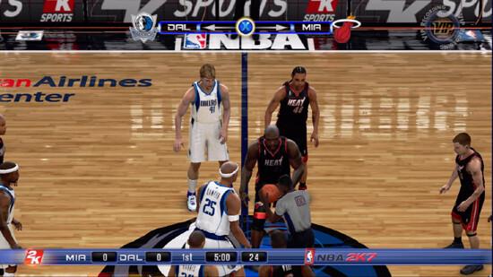 NBA 2007 - Xbox 360