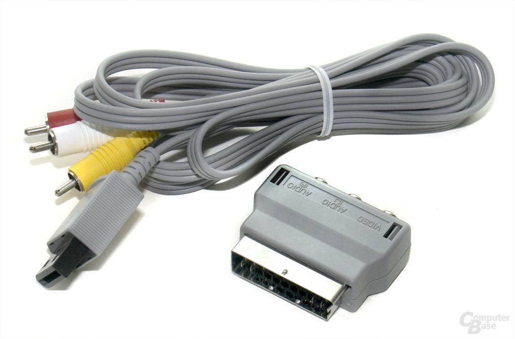 AV-Kabel und SCART-Adapter