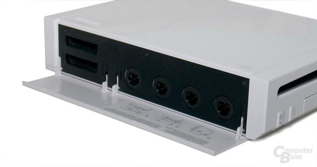 GameCube-Anschlüsse