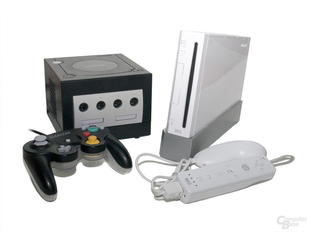 Vergleich: GameCube vs. Wii