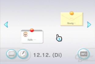 Wii-Pinnwand: Nachrichten