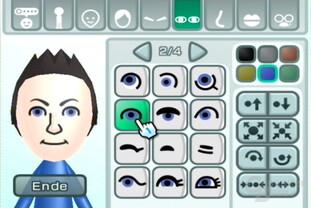 Mii-Kanal: Augen