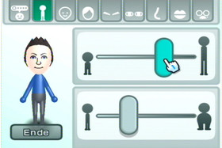 Mii-Kanal: Körpermaße