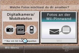 Foto-Kanal: Pinnwand oder SD-Karte