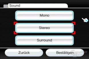Einstellungen: Sound-Ausgabe