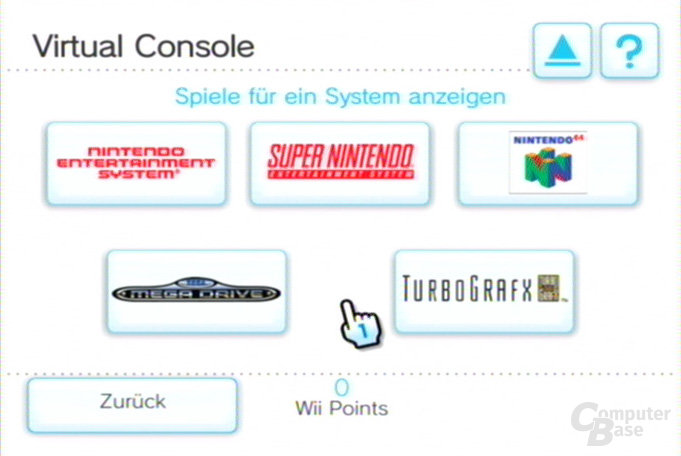 Shop-Kanal: Virtual Console