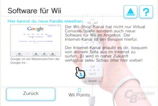 Shop-Kanal: Wii-Software