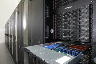 Super-Computer Albert² mit Intel-Prozessoren