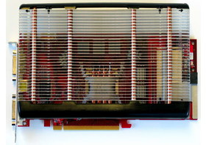 PowerColor X1950 Pro mit passiver Kühllösung von Arctic Cooling