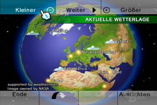 Wetterkanal: Globus