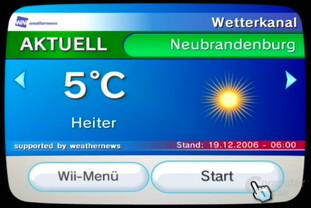 Wetterkanal Titelbild