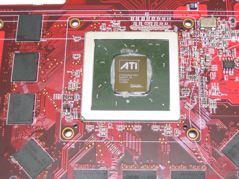 PowerColor X1950 Pro GPU mit VRAM