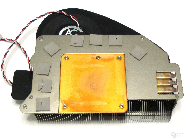 PowerColor X1950 Pro Kuehler Rueckseite