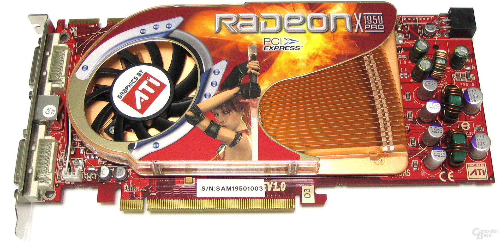 GeCube Radeon X1950 Pro