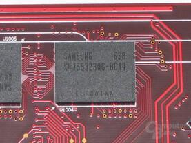 PowerColor X1950 Pro VRAM