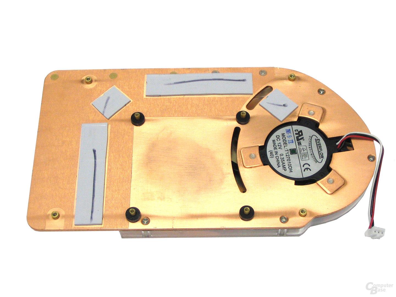 GeCube X1950 Pro Luefter Rueckseite