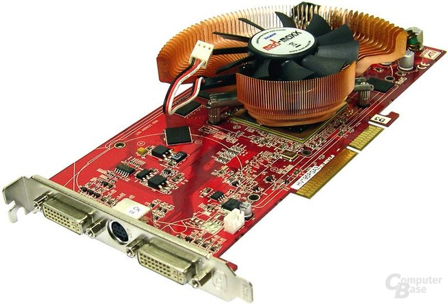 mad-moxx silent: Radeon X1950 Pro AGP Rev.2