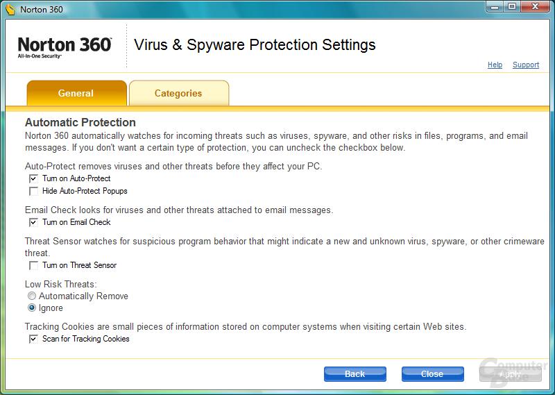 Norton 360 - Sicherheitgesamtpaket