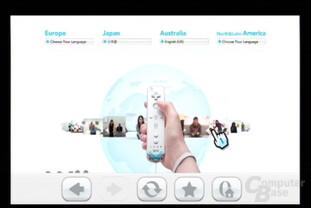 Internet-Kanal Testversion: Nintendo-Homapage