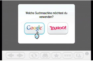 Intenet Kanal: Integrierte Suche