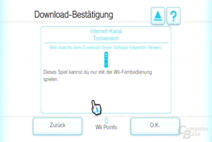 Internet-Kanal Testversion: Der Download 3