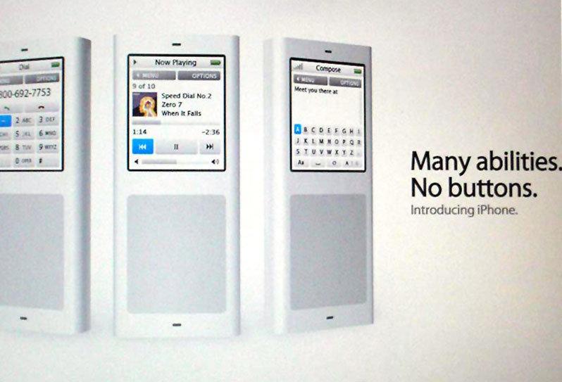 Vermeintliche iPhone-Anzeige