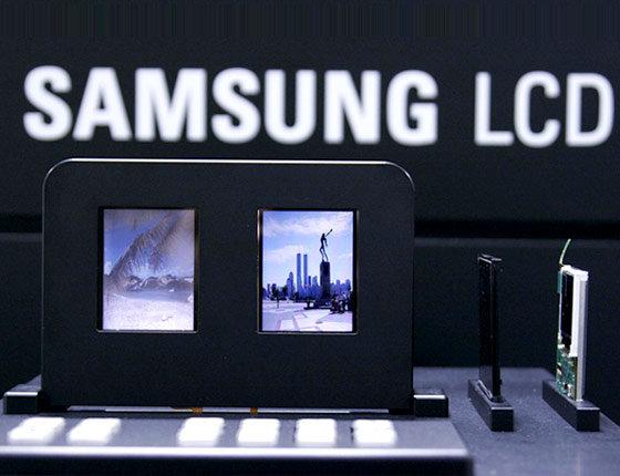 Doppelseitiges LCD von Samsung