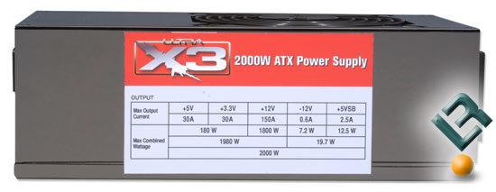 Ultra Products 2000-Watt-Netzteil   Quelle: Legit Reviews