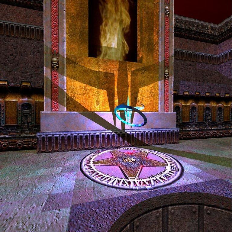 Schatten in Quake 3: Raytraced (2004)