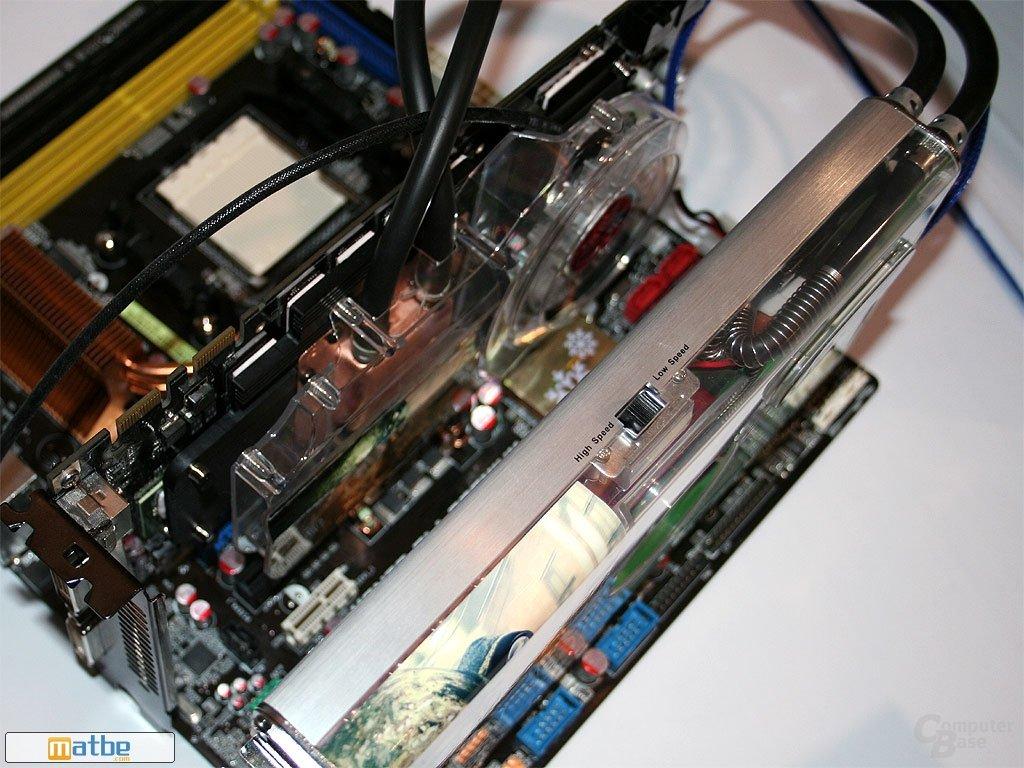 Asus EN8800 GTX Top Aquatank Cooling | Quelle: Mathbe.com