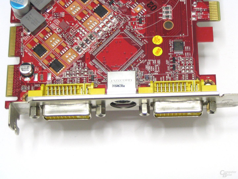MSI Radeon X1650 XT DVI-Anschluesse