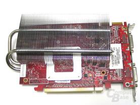 MSI Radeon X1650 XT Rueckseite