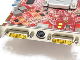 MSI Radeon X1650 XT Slotblech
