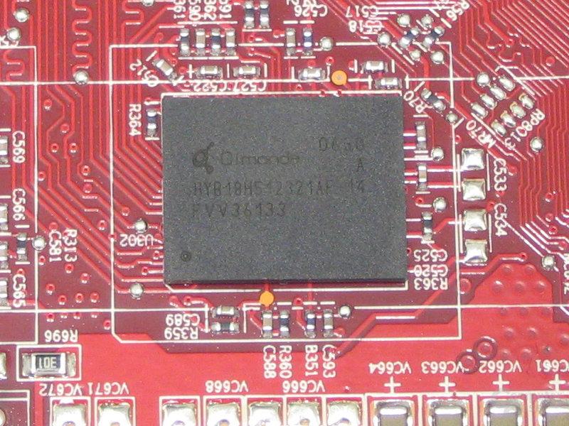 MSI Radeon X1650 XT VRAM