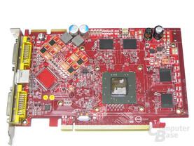 MSI Radeon X1650 XT ohne Kuehler