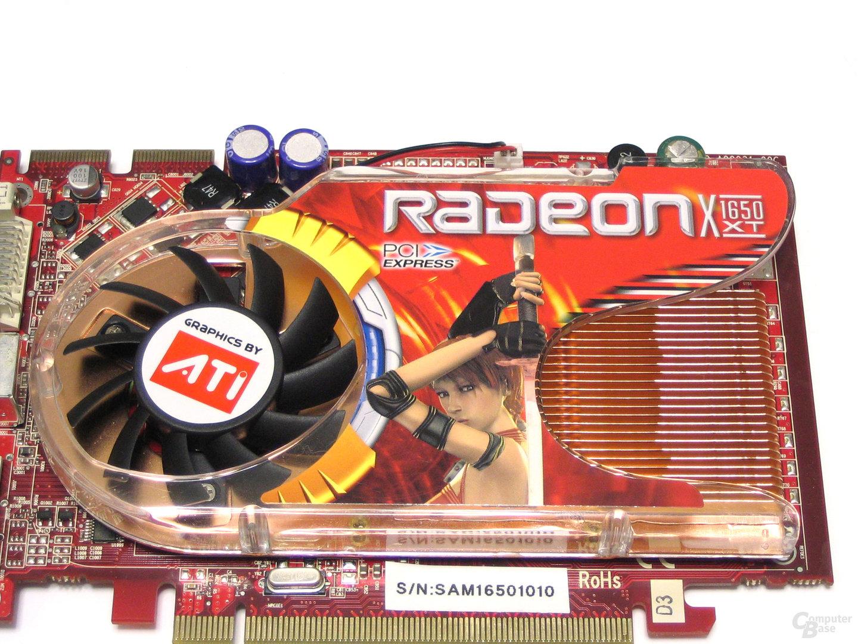 GeCube Radeon X1650 XT Kuehler