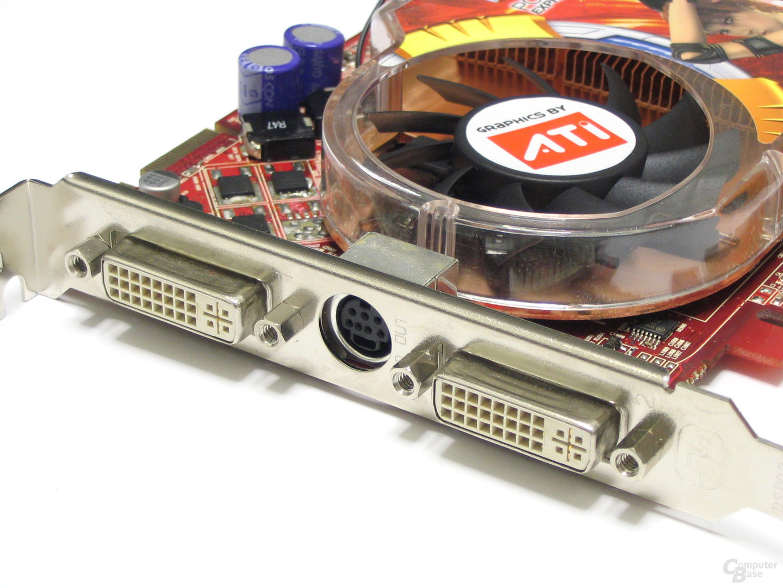 GeCube Radeon X1650 XT Slotblech