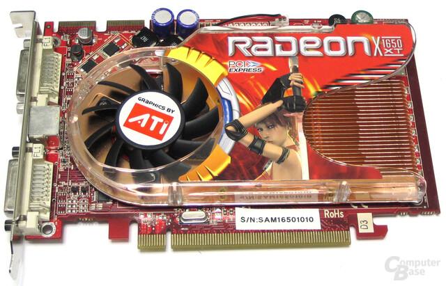 GeCube Radeon X1650 XT