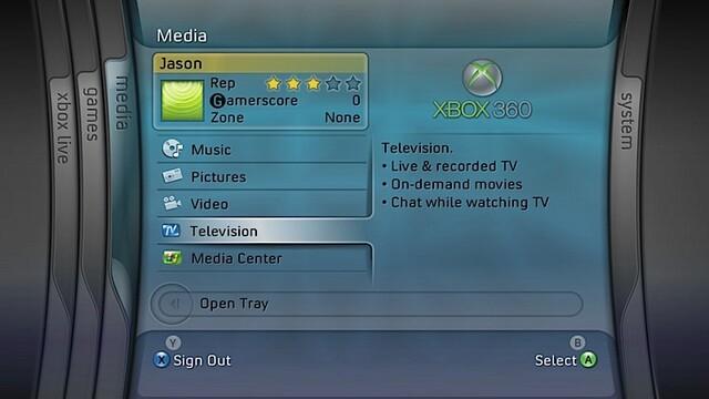 IPTV-Service für Xbox 360