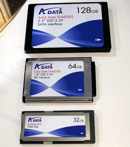 A-Data Solid State Disks