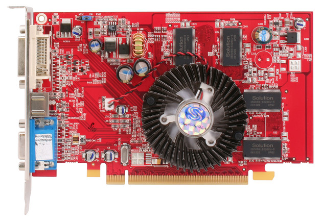 Sapphire Radeon X1050 256 MB