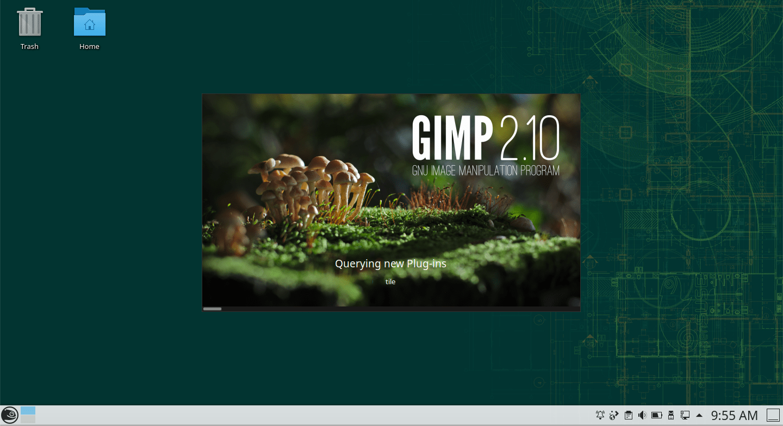 openSUSE Leap (KDE) – GIMP