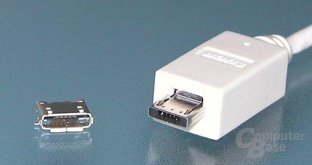 Micro-USB soll kleinere Geräte ermöglichen