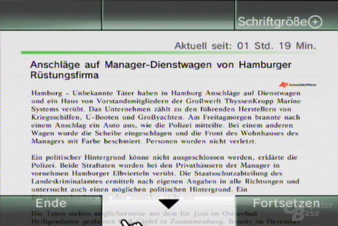 Nachrichtenkanal - Präsentation 4