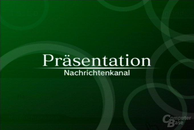 Nachrichtenkanal - Präsentation 1