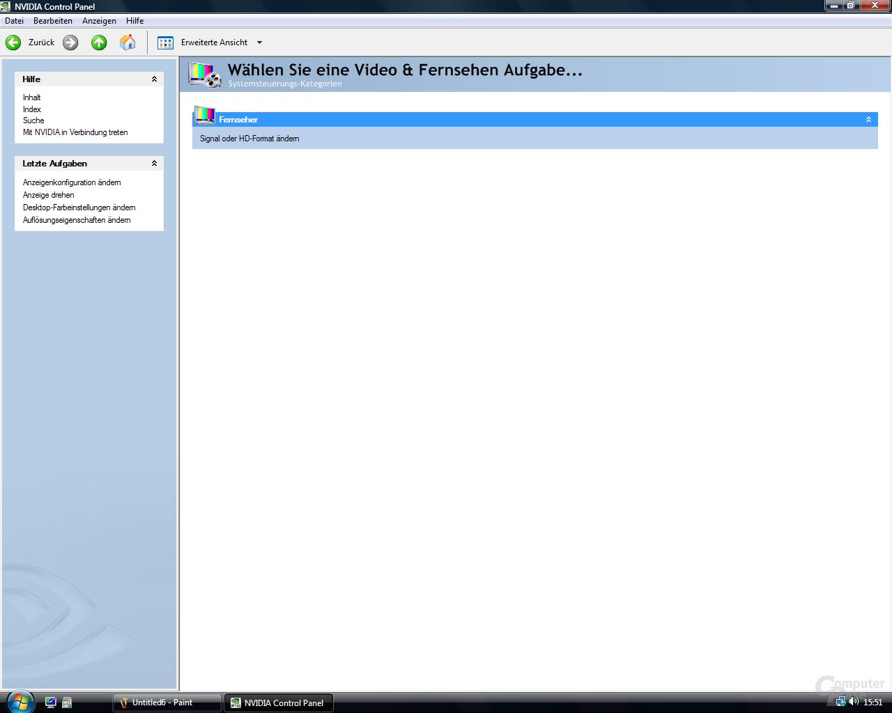 nVidia ForceWare 100.54 für Vista