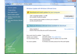 Windows Vista Launch - Die ersten Patches und Ultimate Extras