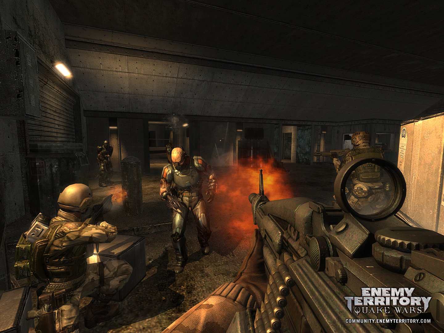 Enemy Territory: Quake Wars, 7.5.07