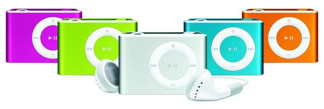 iPod shuffle Familie