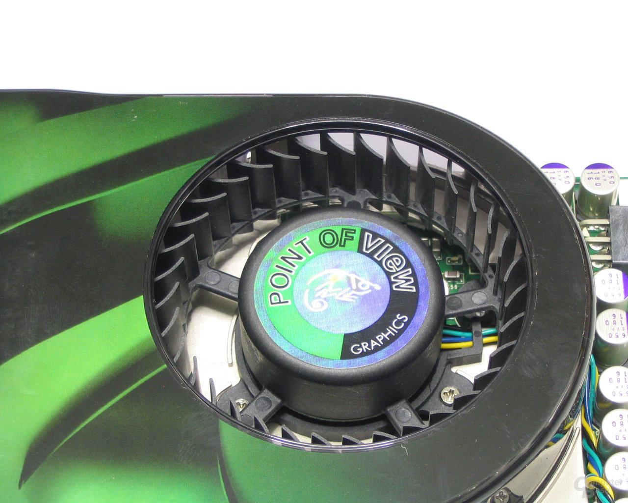POV GeForce 8800 GTS Lüfter